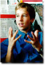 Craig Kielburger as a Child