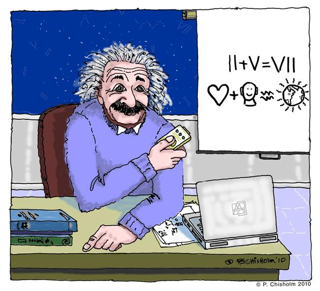 Einstein & the 7 Rays